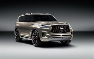 Infiniti QX80: 'A private jet for the road'