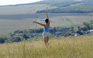 Outdoor: Dance fit on Divis Mountain and world dawn chorus day