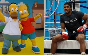 5 things Anthony Joshua can learn from Homer Simpson's brief boxing career