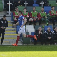 Burns 'buzzing' for Cliftonville clash