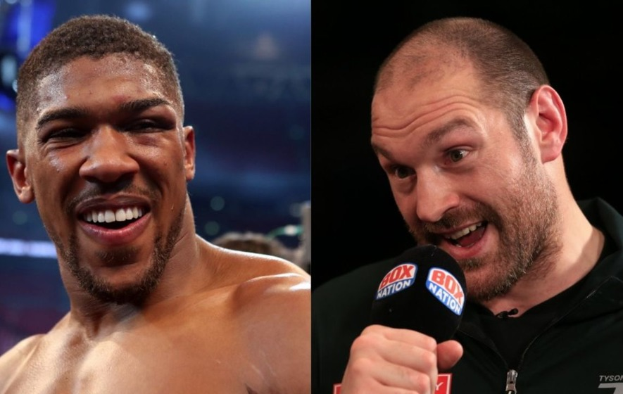 'Let's dance': Tyson Fury responds to Anthony Joshua after the latter's world title-winning fight