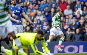 Celtic star Griffiths hits back at Rangers chairman's 'ludicrous' claim