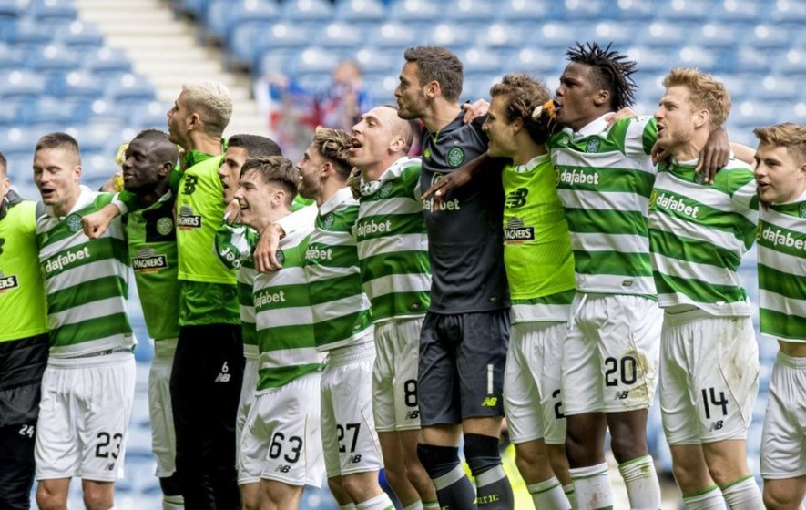 Celtic's Kieran Tierney buzzing after Old Firm romp