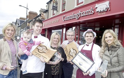 Kilkeel family butcher Cunningham adds UK title to its best