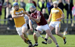 John 'Rocky' Dillon gets the plaudits from Antrim hurling management team
