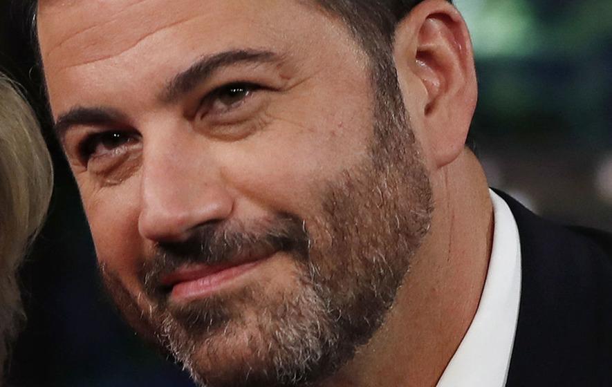 Video: Emotional Jimmy Kimmel tells of newborn son's emergency surgery