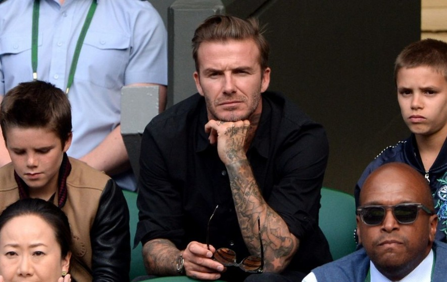 Beckhams share family snaps on dad David's 42nd birthday