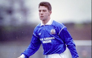 Former Glenavon and Newry Town defender Tony Scappaticci was popular with the fans and respected by his team-mates