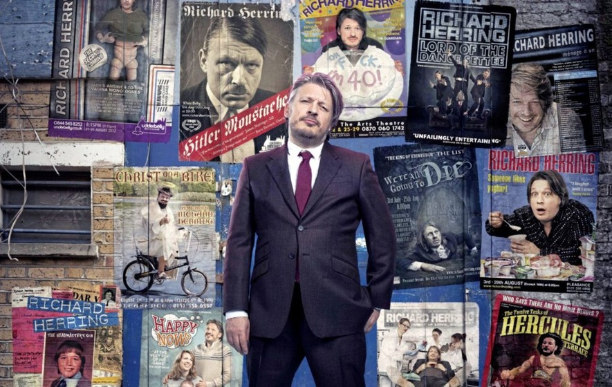 Essential comedy: Richard Herring at CQAF