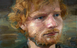 Ed Sheeran sits for portrait by Belfast's Colin Davidson