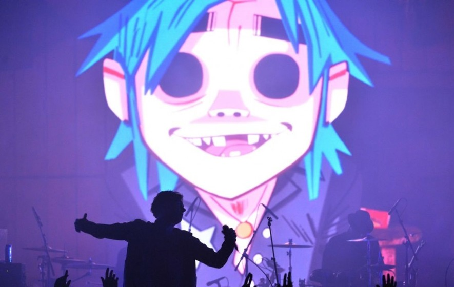 Gorillaz on course to take top spot in album chart from Ed Sheeran