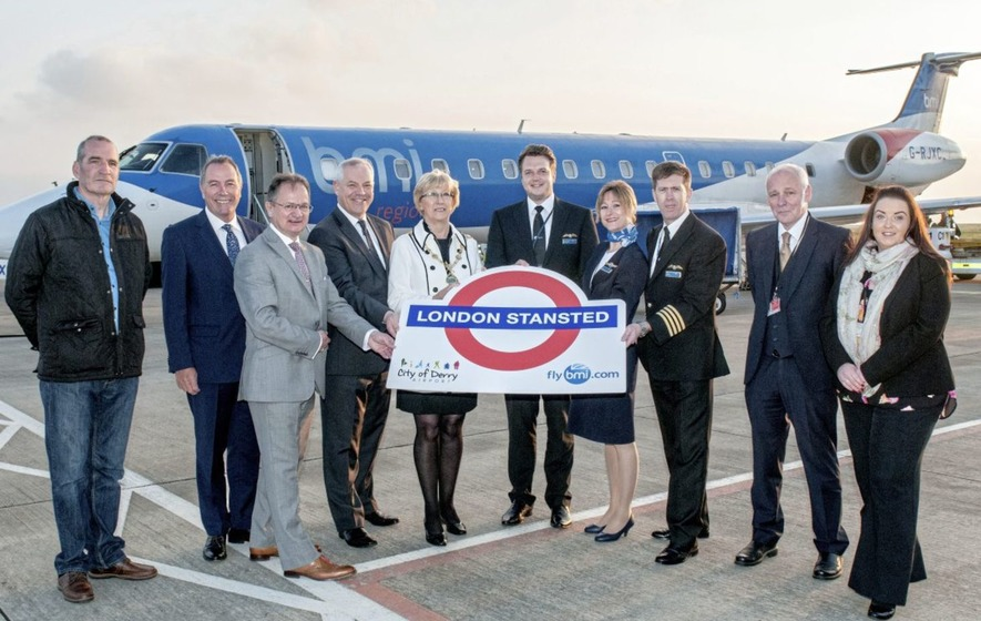 New twice daily Derry to Stansted route takes flight