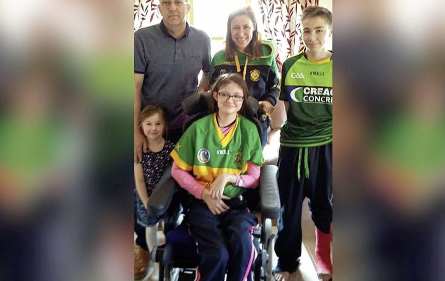 Family's joy as Mary O'Neill (11) returns home for first time since being knocked down in January