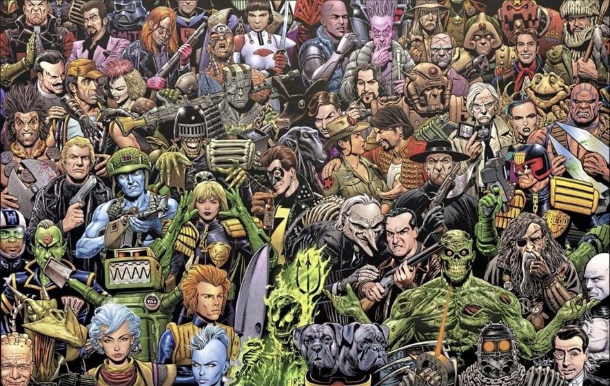 Special event: Celebrating 40 years of 2000 AD at Enniskillen Comic Fest