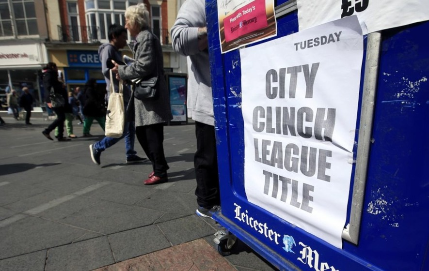 Leicester fans are celebrating one year since they won the Premier League, and now Chelsea fans want them to repay the favour
