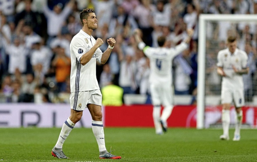 Sublime Cristiano Ronaldo puts Real Madrid on brink of final