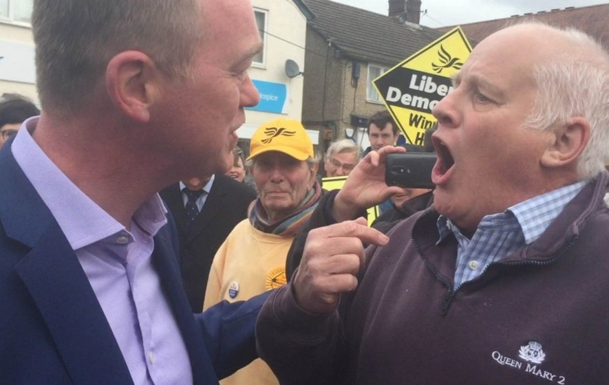 Watch this shouty pensioner lay into Tim Farron over his stance on Brexit