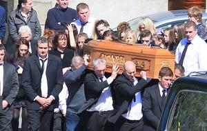 Funeral held of Donegal crash victim Nathan Dixon-Gill