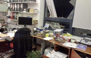Irish language school broken into three times in three days