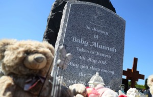 Headstone erected for baby Alannah, who was found in Wicklow recycling plant