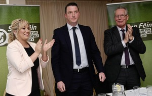 Election 2017: Sinn Féin candidate John Finucane says he is continuing his father's work