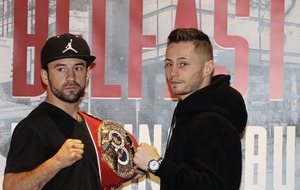 Pressure all on Lee Haskins in IBF bantamweight title fight says Ryan Burnett