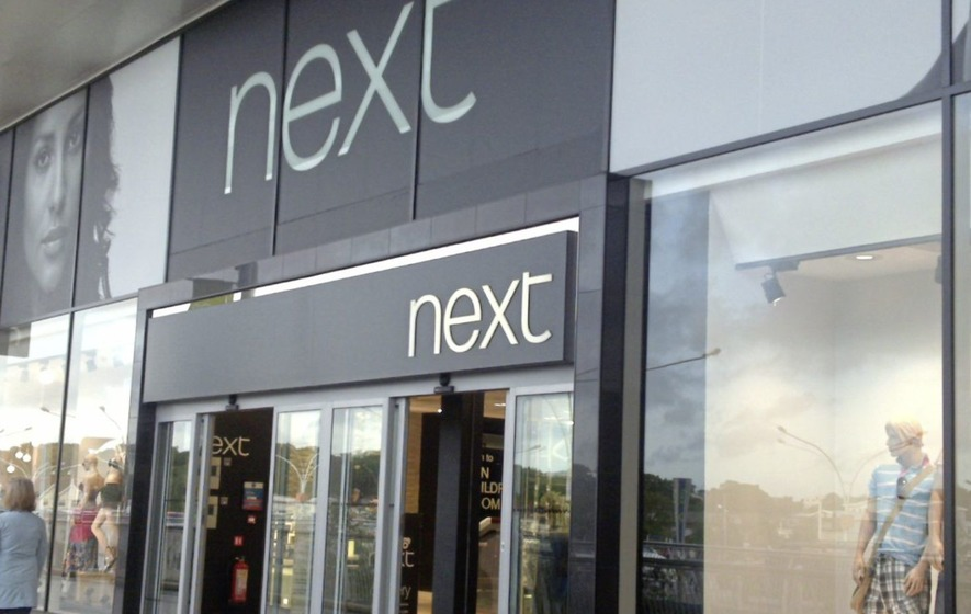Sales at retail giant Next fall by 8%