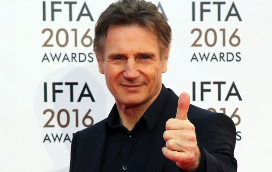 Liam Neeson paid a visit to a Canadian sandwich store after it offered him free food