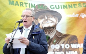 DUP councillor continues to 'pray' that Sinn Féin's Gerry Kelly will 'very soon face the one true judge just like Marty'