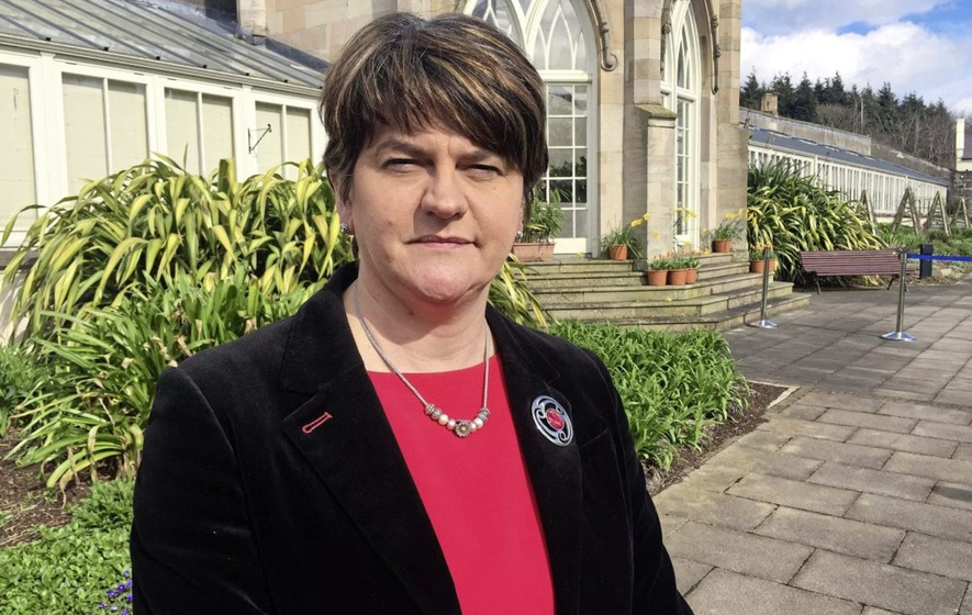 DUP leader Arlene Foster warns against 'destabilising' border poll
