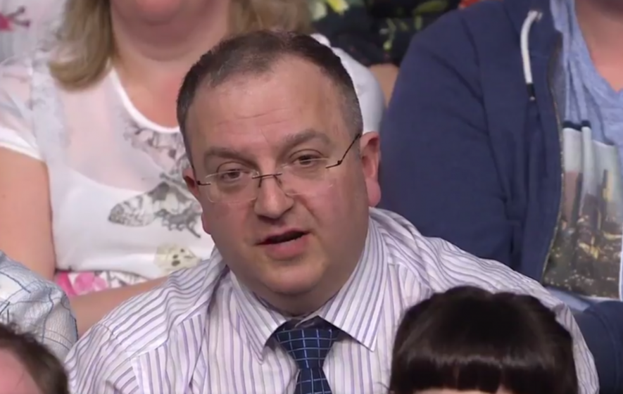 An audience member on Question time said people who use food banks 'smoke, drink and have Sky TV'