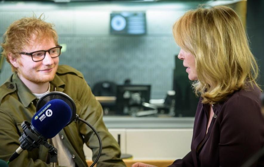 Ed Sheeran tells Desert Island Discs songwriting is 'therapeutic'