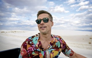 Brad Pitt's cringeworthy GQ fashion shoot in America's national parks