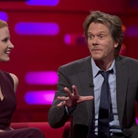 Jessica Chastain and Kevin Bacon reveal how fame helped them escape speeding tickets