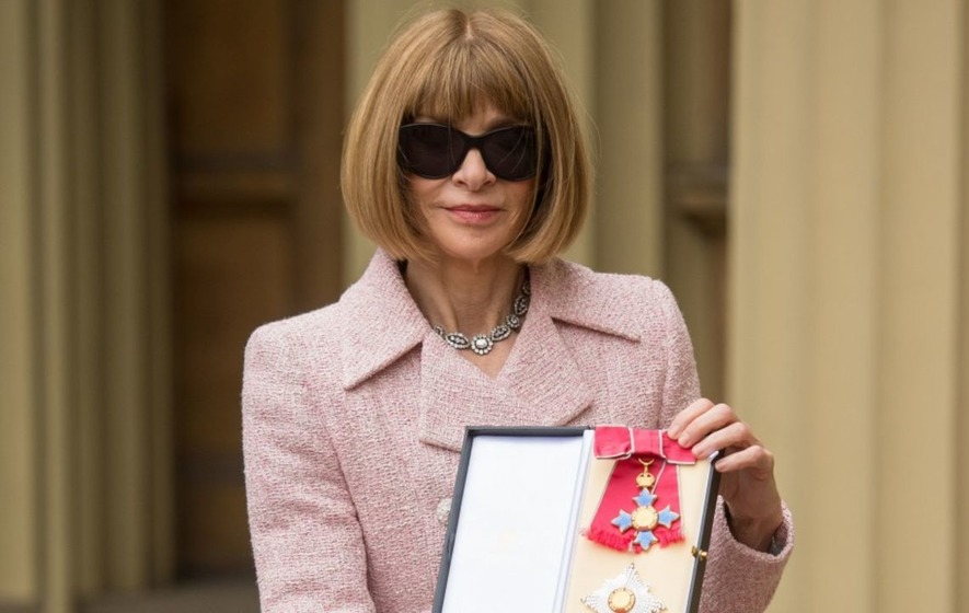 Vogue's Anna Wintour chooses Chanel and sunglasses for Palace date with Queen