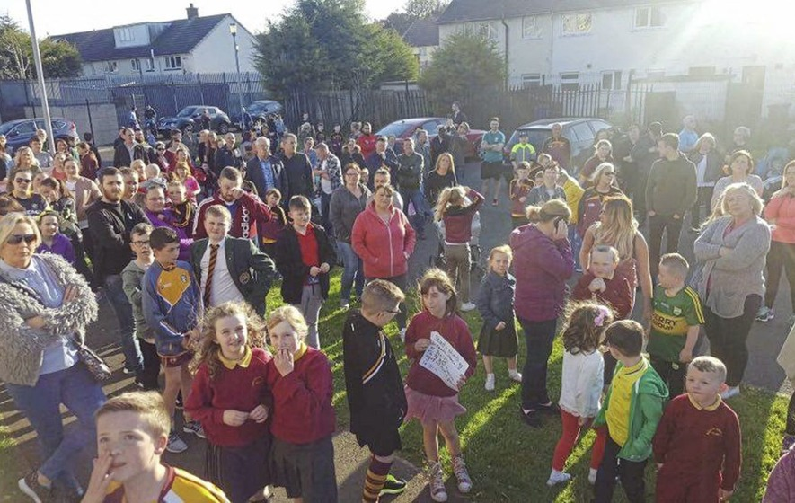 Community turns out to support school facing repeated break-ins