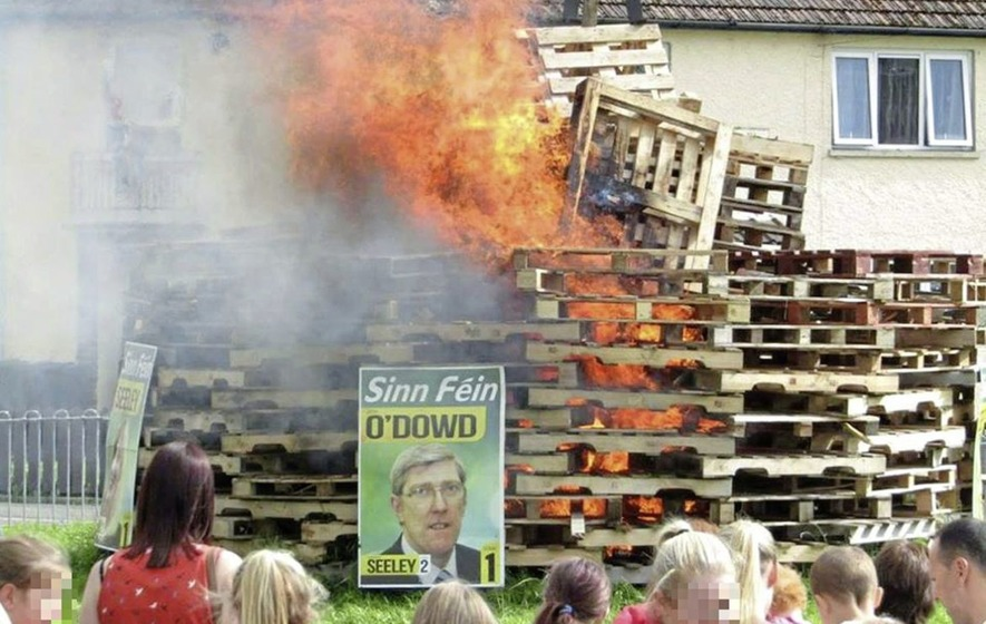 Council clarifies funding block for bonfires burning election posters