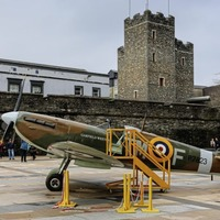 Spitfire in Derry to commemorate city's role during World War II
