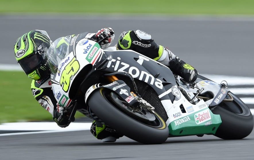 Watch what happens when a Moto GP rider gets a wasp stuck in their leathers
