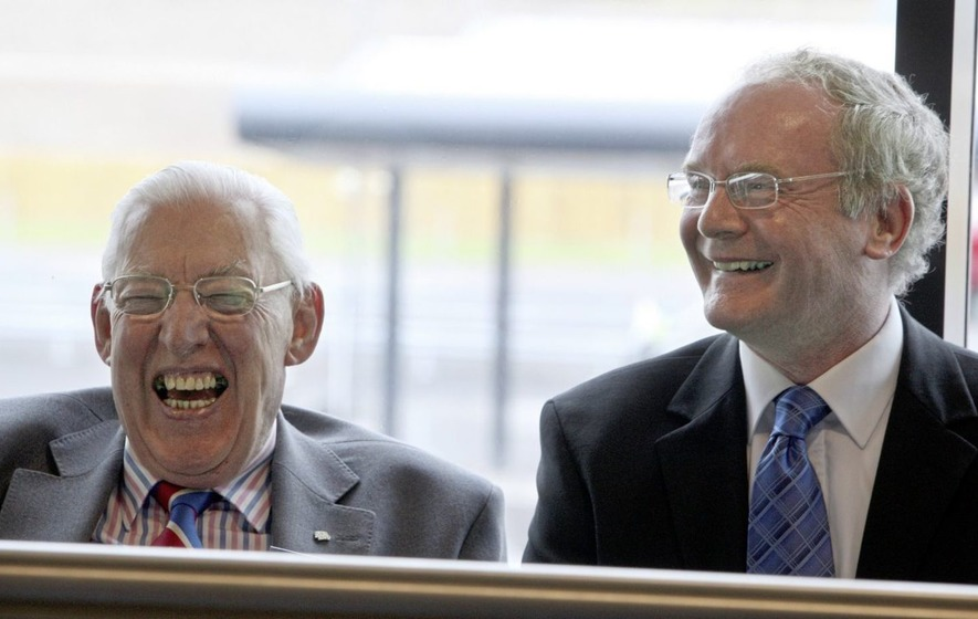 Historic moments don't come much bigger than the Paisley McGuinness power sharing deal