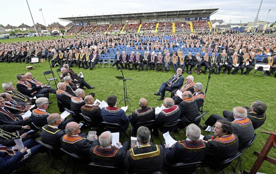 Thousands gather in Portadown to mark 500th anniversary of Protestant Reformation