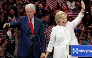 A barb for Trump and praise for Clintons at Streisand concert