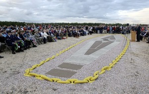 Hundreds mark 80th anniversary of Hindenburg disaster