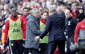 Manchester United boss Jose Mourinho can't resist another dig despite loss to Arsenal