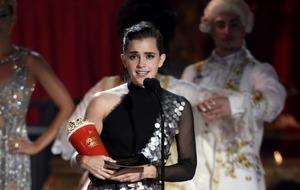 Emma Watson and Stranger Things' Millie Bobby Brown win at 'genderless' MTV awards