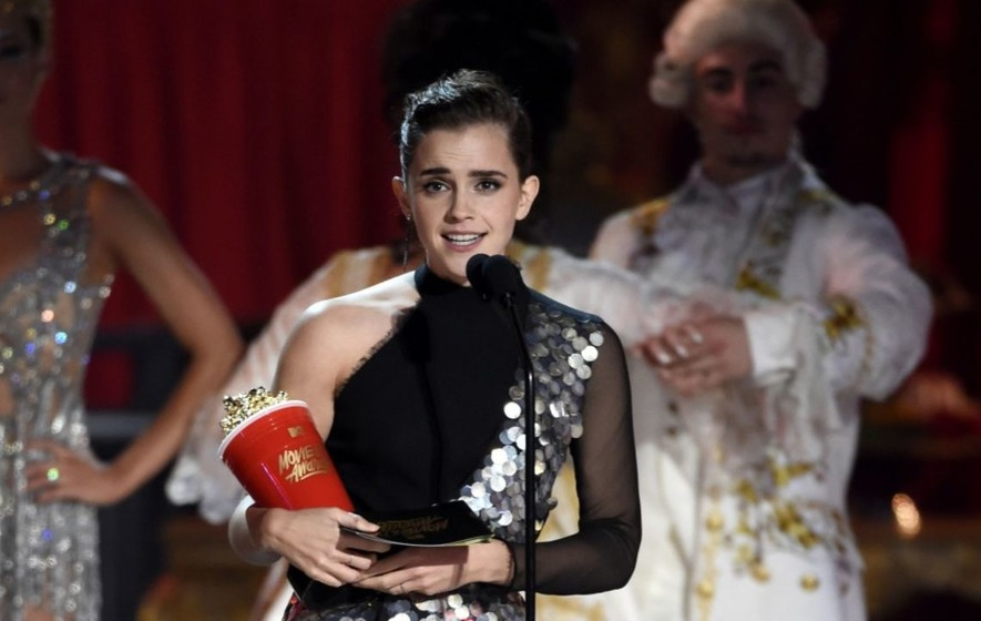 Emma Watson and Stranger Things' Millie Bobby Brown win at 'genderless' MTV awards