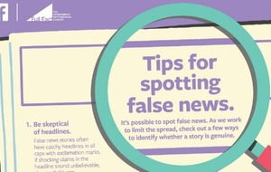 Facebook adverts aim to help users spot fake news