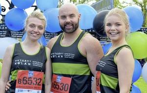 Student volunteers run 853-mile `Marrowthon'