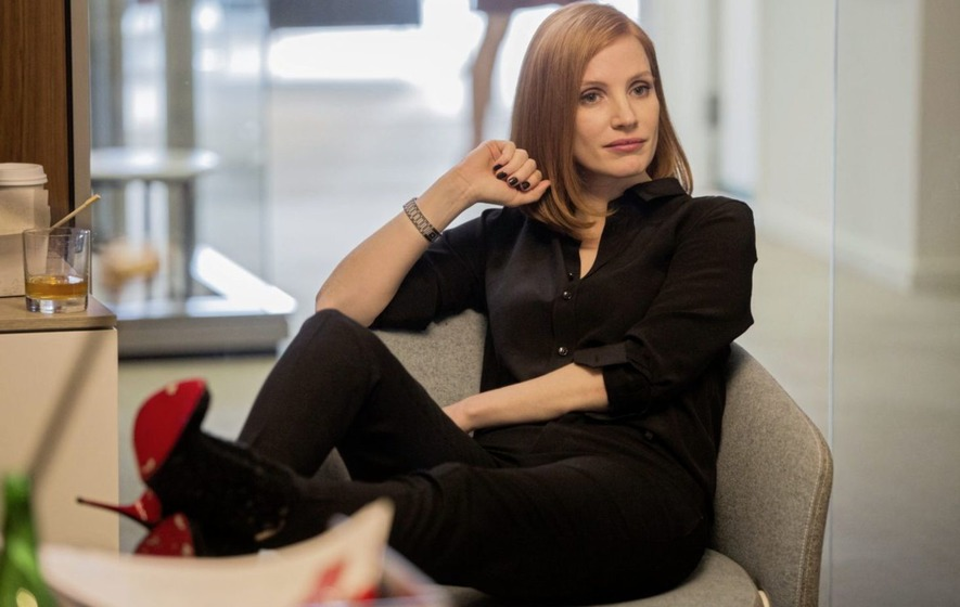 Jessica Chastain imperious as a cut-throat Washington lobbyist in ...