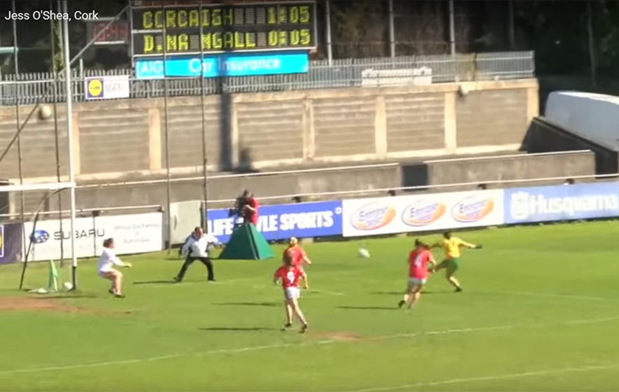Video: Geraldine McLaughlin's goal v Cork in National League Division 1 final
